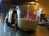 チャイの作り方~牛乳を入れる